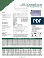 Battery 12v 250A -LP12-25028868