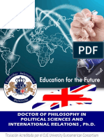 Doctor Political Sciences Inter Relations