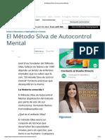 El Método Silva de Autocontrol Mental Artículo