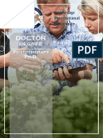 Phytotherapy PhD