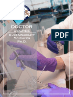 Doctor Sustainability Sciences