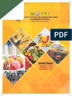 Annual Report MOFPI 16 17