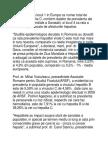 Romania Ocupa Locul 1 in Europa CA Numar Total de Cazuri de Hepatita C