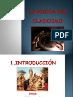 PRESENTACION MÚSICA CLASICISMO