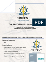 The RAACI Electric Jacking System