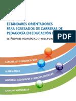 Libro Estandares basicos de educadores