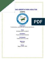 Tarea 2 de Fundamento y Estructura Del Curriculo Dominicano Yorleny
