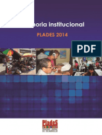 Memoria Plades 2013- 2014