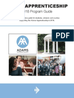 Adams 2018 Program Guide