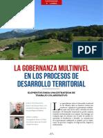 Gobernanza Multinivel en Procesos de Desarrollo Territorial - Costamagna P. y Larrea M. Para RedDete