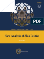 New Analysis of Shia Politics