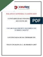 OscarRodriguez_31121727_Tarea-06_Ejercicios Prácticos Balance General Clasificado