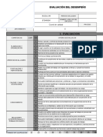 Modelo para la Evaluacion de Desempeño por Competencias.
