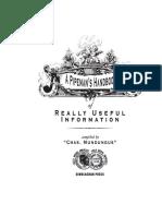 Pipemans Handbook