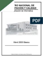 Word 2003 Basico