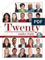 2009  20 under 40   | Chamber Business Magazine