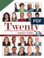 2009  20 under 40   | Chamber Business Magazine