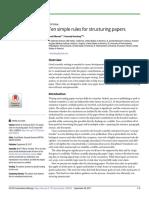 Cómo Estructurar Un Paper
