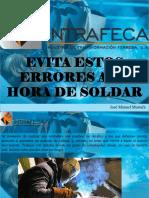 José Manuel Mustafá - Evita Estos Errores a La Hora de Soldar