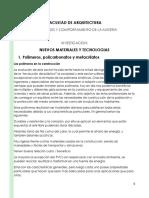 NUEVOS MATERIALES Y TECNOLOGIAS