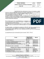 Ficha Técnica. CQS-1HP- 2013