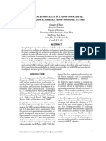 Ecommerce Adoption, Ebusiness and Emarketing