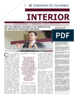 Semanario / País Interior 22-01-2018