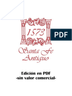 Santa Fe Antiguo Tiempo y Memoria Tomo i 2008