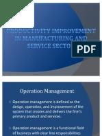 Sector Productivity