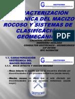 01 - Caracterización Geotécnica Del Macizo Rocoso