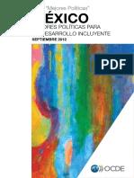 OCDE - México Mejores políticas para un desarrollo incluyente