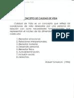 Verdugo Alonso, Miguel a. Autodeterminación y Calidad de Vida