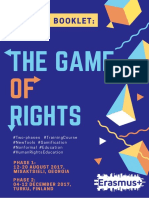 Game of Rights Booklet