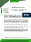 LEY 30723 AMENAZA PUEBLOS INDIGENAS EN AISLAMIENTO