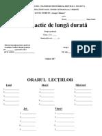 Proiectare de Lungă Durată Cl.2 2017