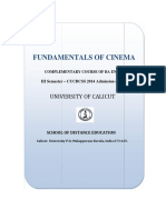 Fundamentals of Cinema