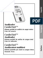 MANUAL Cardiochek Spanish