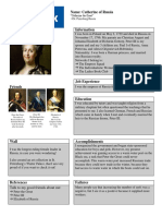 absolute ruler facebook page project history catherine th great