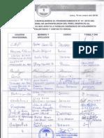 PRONUNCIAMIENTO CPAP Nº 1 - 10 DE ENERO DE 2018