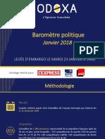 Sondage Odoxa - Midi Libre (janvier 2018)