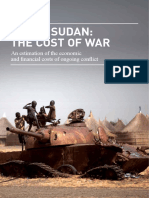 South Sudan Cost War