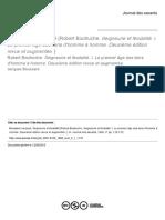 BOUSSARD, Jacques. Seigneurie Et Féodalité de R. Boutruche (Compte Rendu)