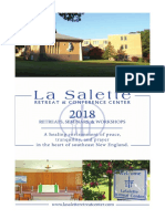 2018 La Salette Retreat Center Catalog
