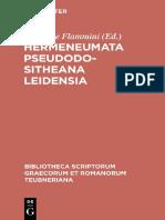 (Bibliotheca scriptorum graecorum et romanorum teubneriana) Flammini, Giuseppe (ed.)-Hermeneumata pseudodositheana Leidensia-K.G. Saur (2004).pdf