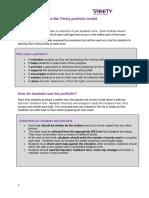 ISE II Portfolio Toolkit