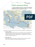 pauls journey to rome assignment pdf