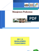 manajemen puskesmas ringkasan
