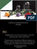 Catálogo de Productos FLORE