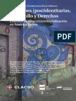 Tensiones Post Identitarias. Desarrollo y derechos