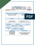 Inf-previo 1 -C. Electronicos II